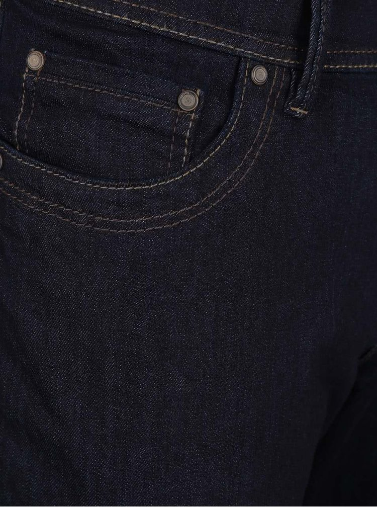 Tmavě modré pánské džíny bugatti