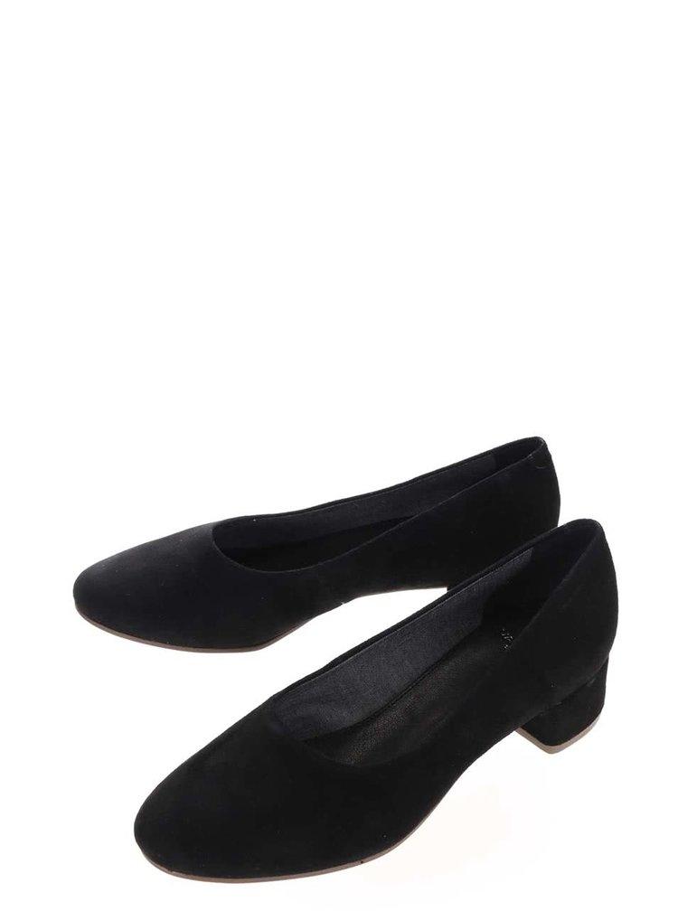 Pantofi negri Vagabond Jamillia din piele întoarsă