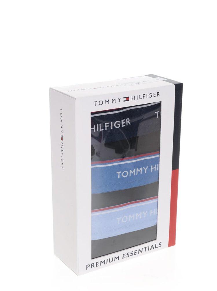 Sada tří boxerek v černé barvě Tommy Hilfiger
