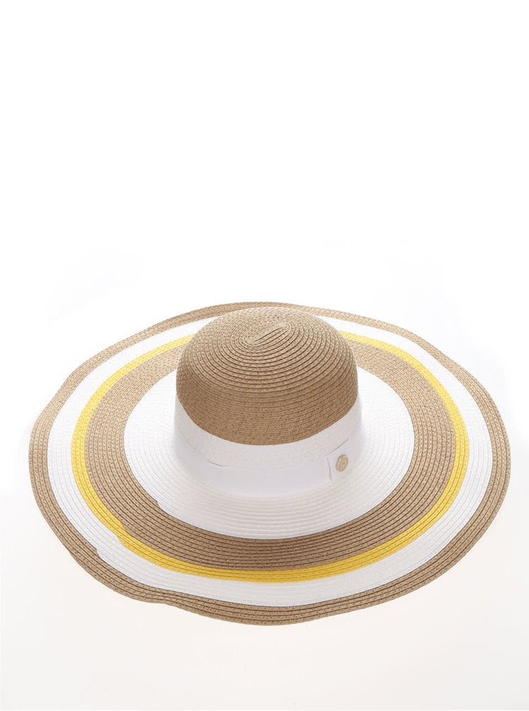 Hnědý dámský klobouk Tommy Hilfiger