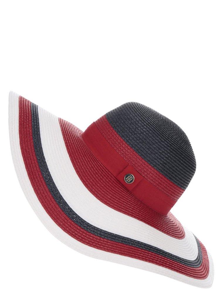 Červený dámský klobouk Tommy Hilfiger