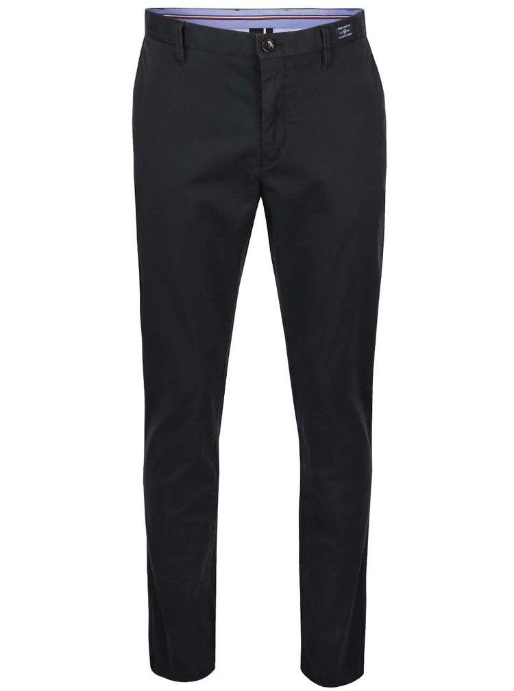 Černé pánské chino kalhoty Tommy Hilfiger