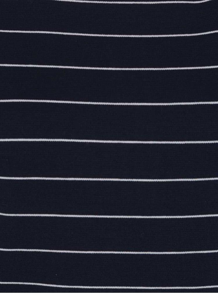 Rochie albastru inchis VILA Tinny in dungi