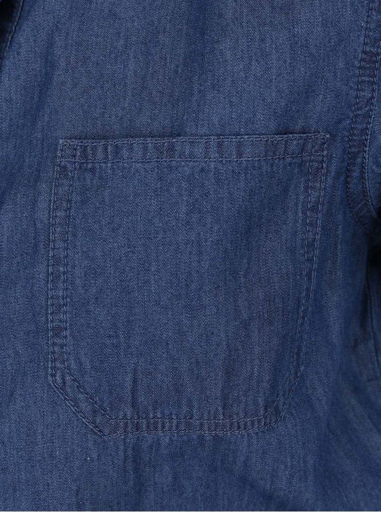Salopeta albastra VILA Amaze din denim