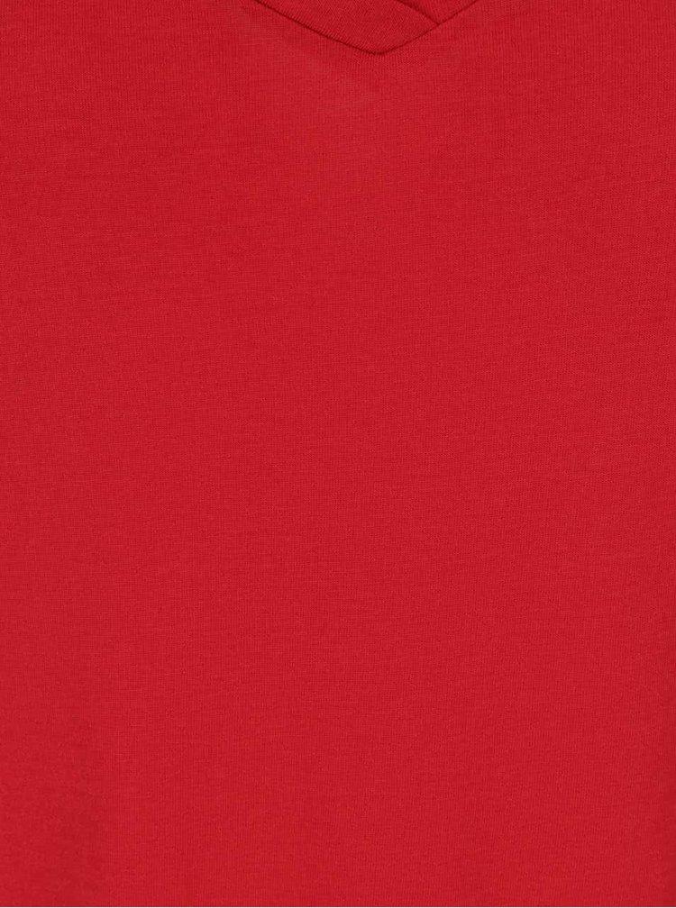 Tricou rosu Jacqueline de Yong Spirit