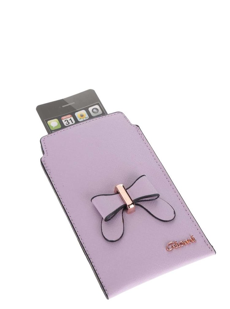 Světle fialový obal na smartphone Gionni Olympia