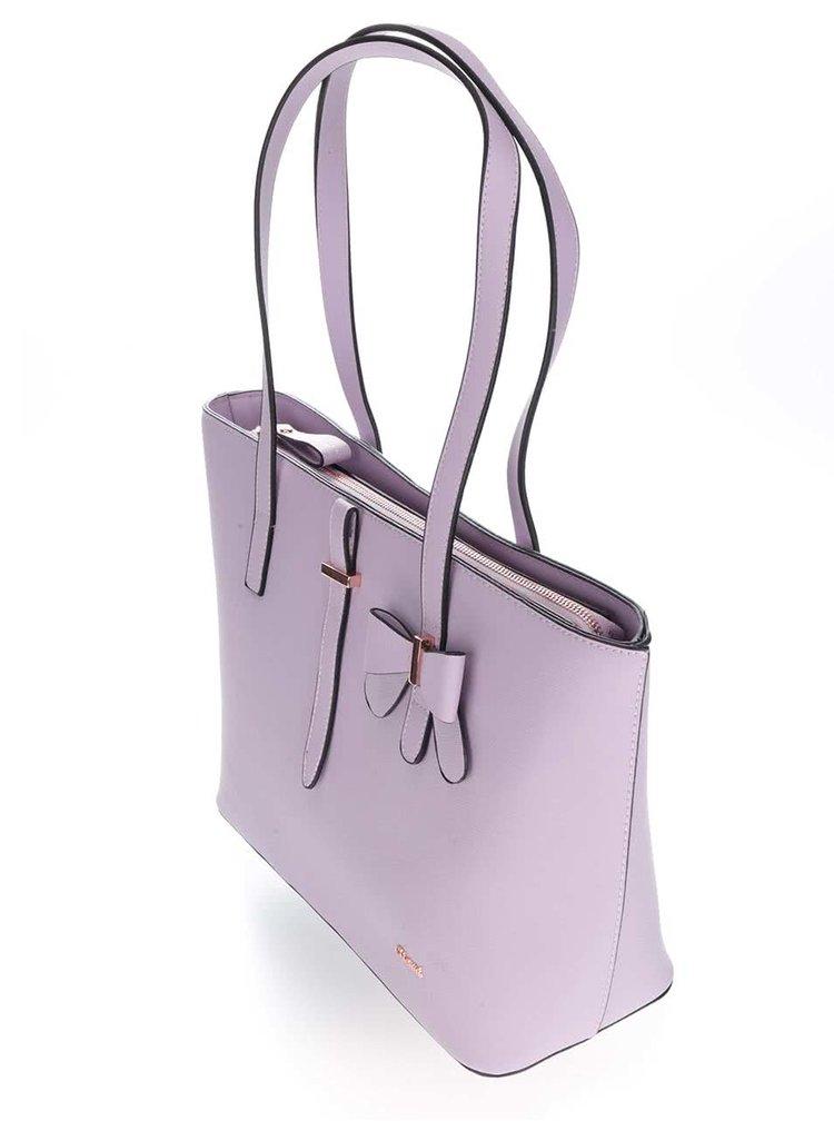 Světle fialová kabelka Gionni Olympia