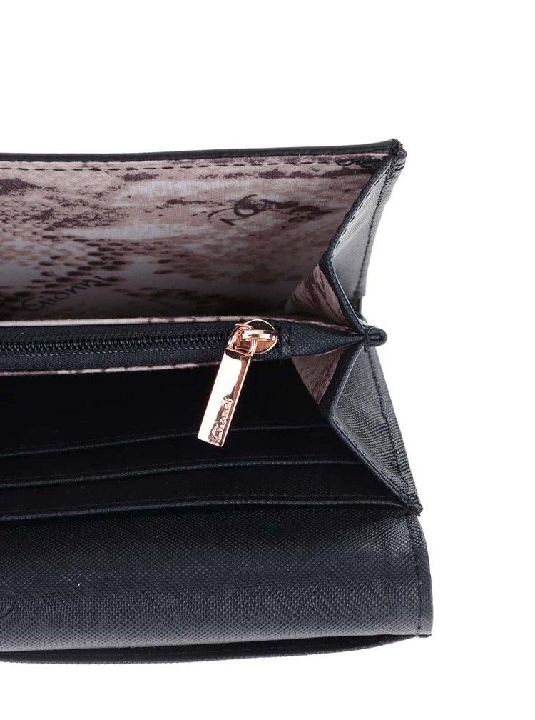 Tmavě modrá velká peněženka Gionni Olympia