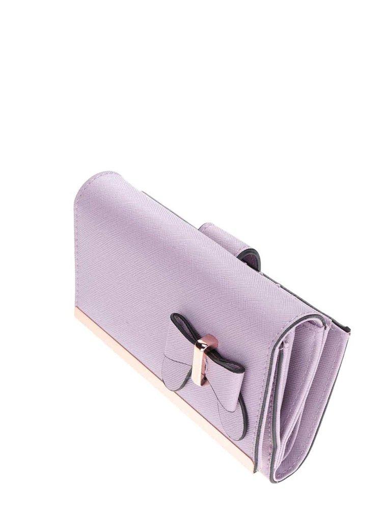 Světle fialová peněženka Gionni Olympia