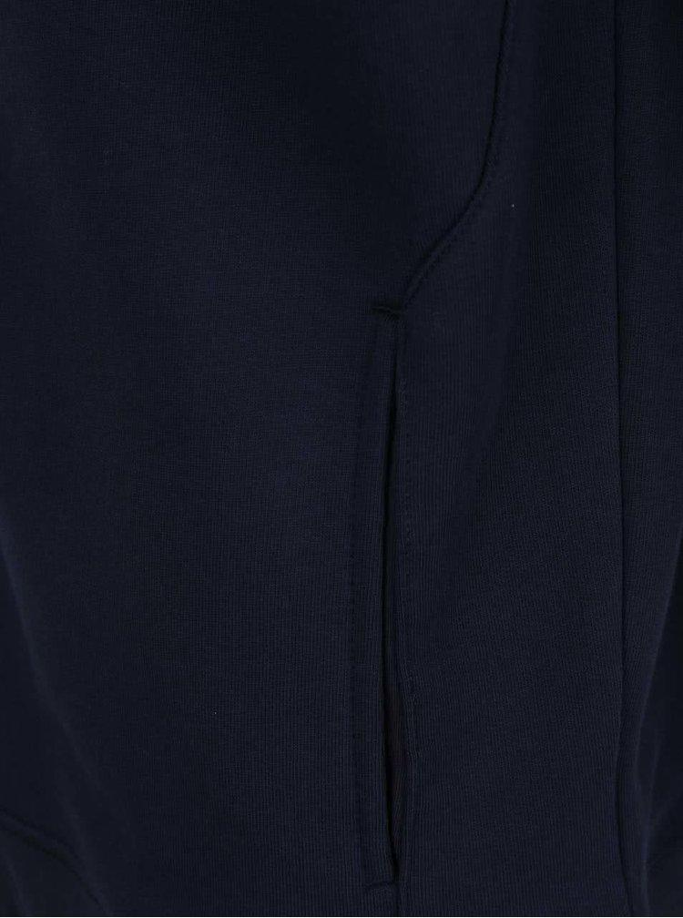 Tmavě modrá pánská mikina na zip Tommy Hilfiger
