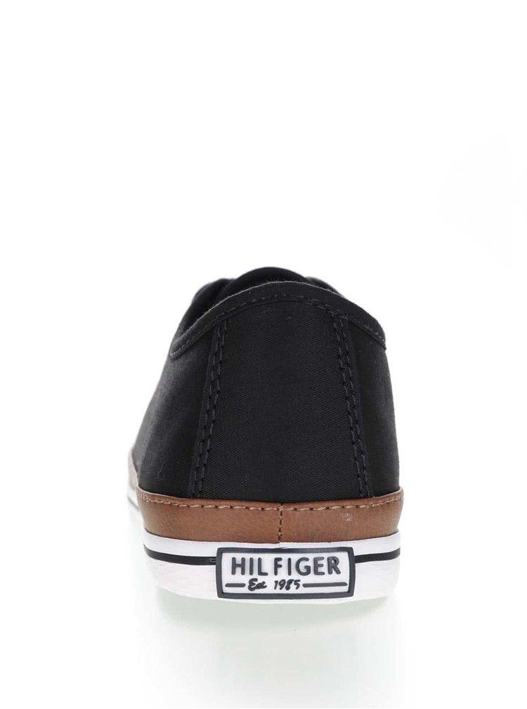 Černé dámské tenisky Tommy Hilfiger