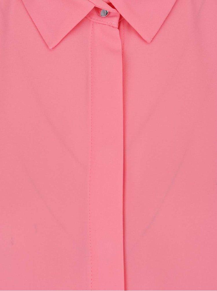 Růžová propínací halenka Dorothy Perkins