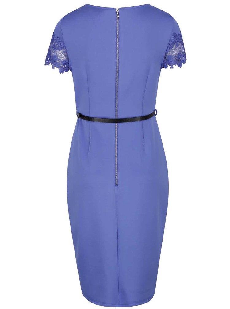 Rochie albastra Dorothy Perkins cu curea