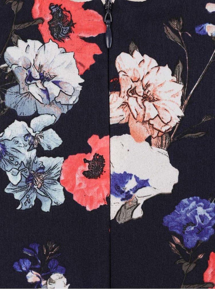 Rochie albastru inchis Dorothy Perkins cu curea
