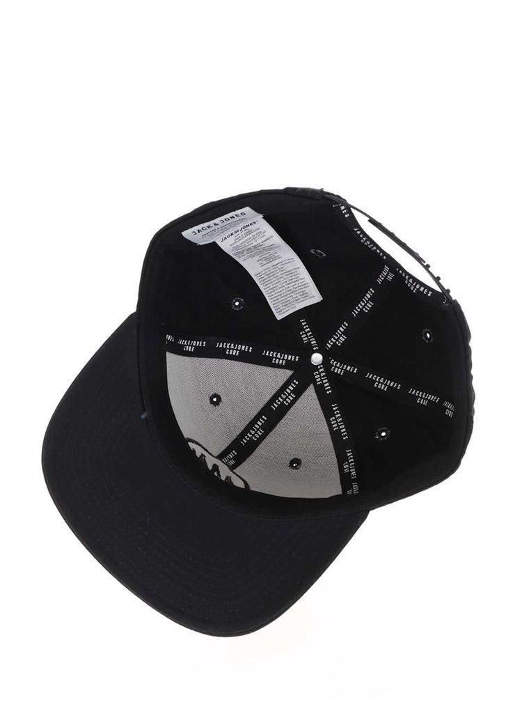Černá kšiltovka s logem Jack & Jones Circle
