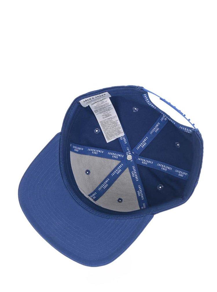 Modrá kšiltovka s logem Jack & Jones Circle