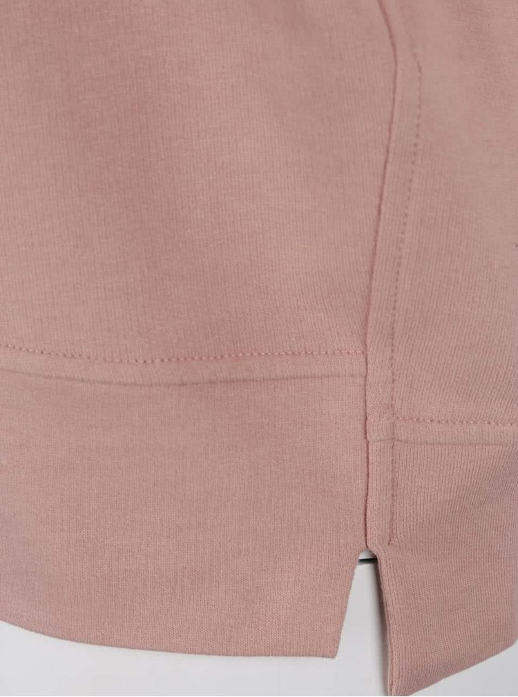 Růžová volná mikina Dorothy Perkins Curve