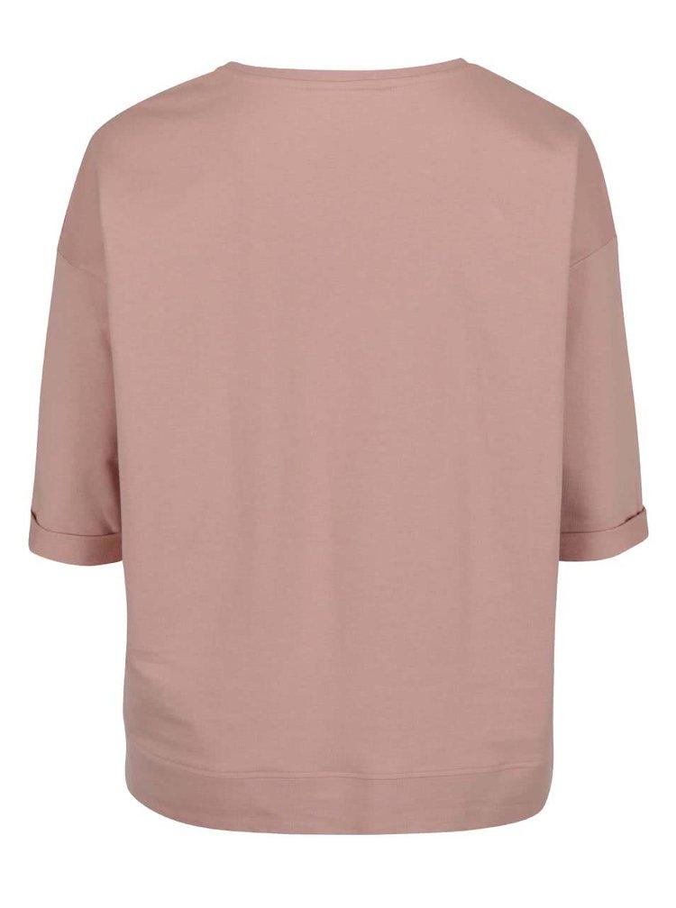 Bluză roz pal Dorothy Perkins Curve