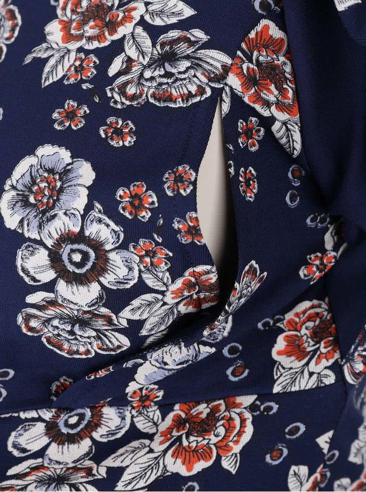 Bluza albastra Dorothy Perkins Maternity cu cordon