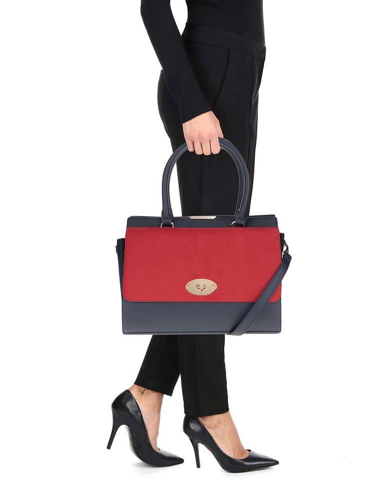 Červeno-modrá kabelka Dorothy Perkins