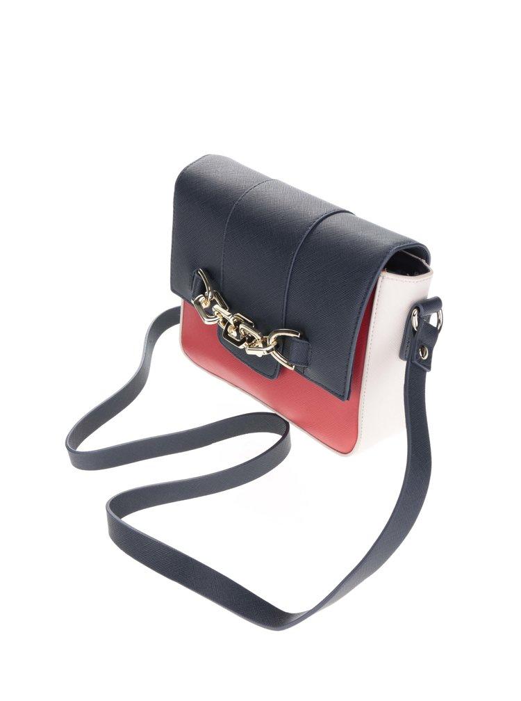 Modro-červená crossbody kabelka Dorothy Perkins