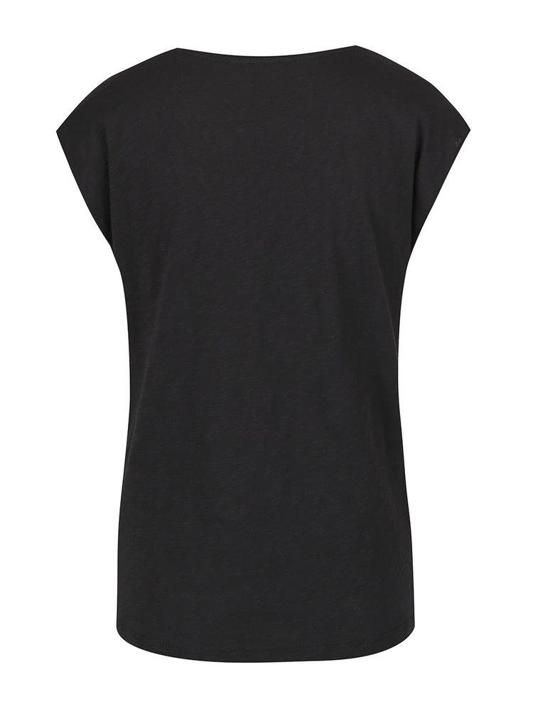 Černé basic tričko ONLY Casa