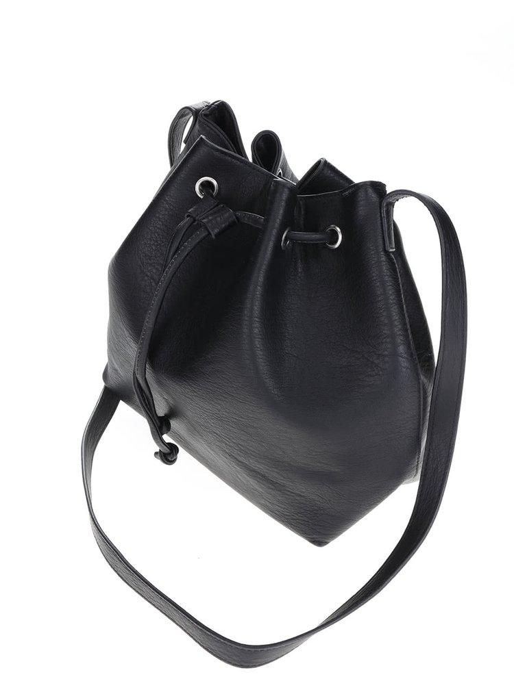 Geanta tip sac Pieces Malou neagra
