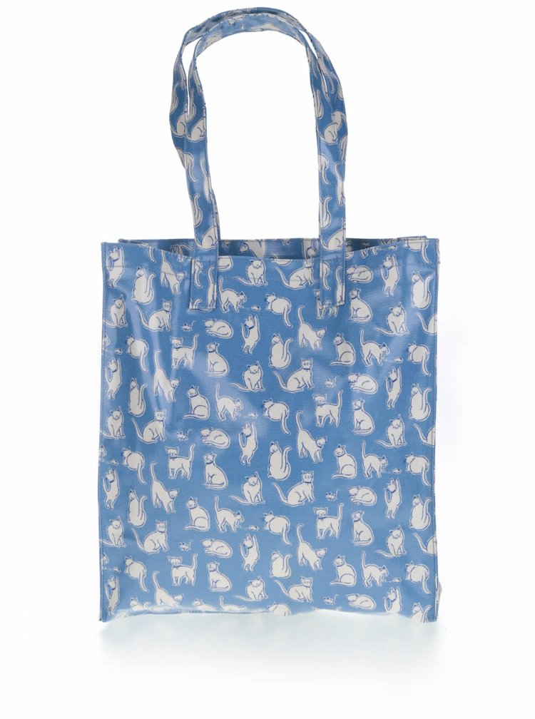 Modrá taška s motivem koček Cath Kidston