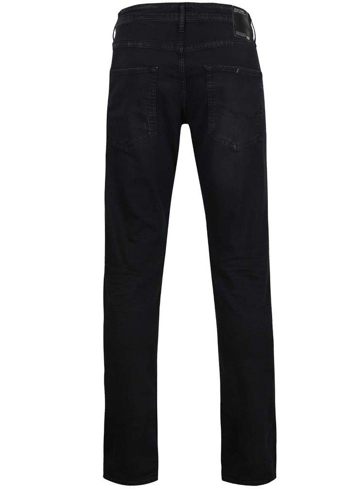 Černé slim džíny Jack & Jones Glenn