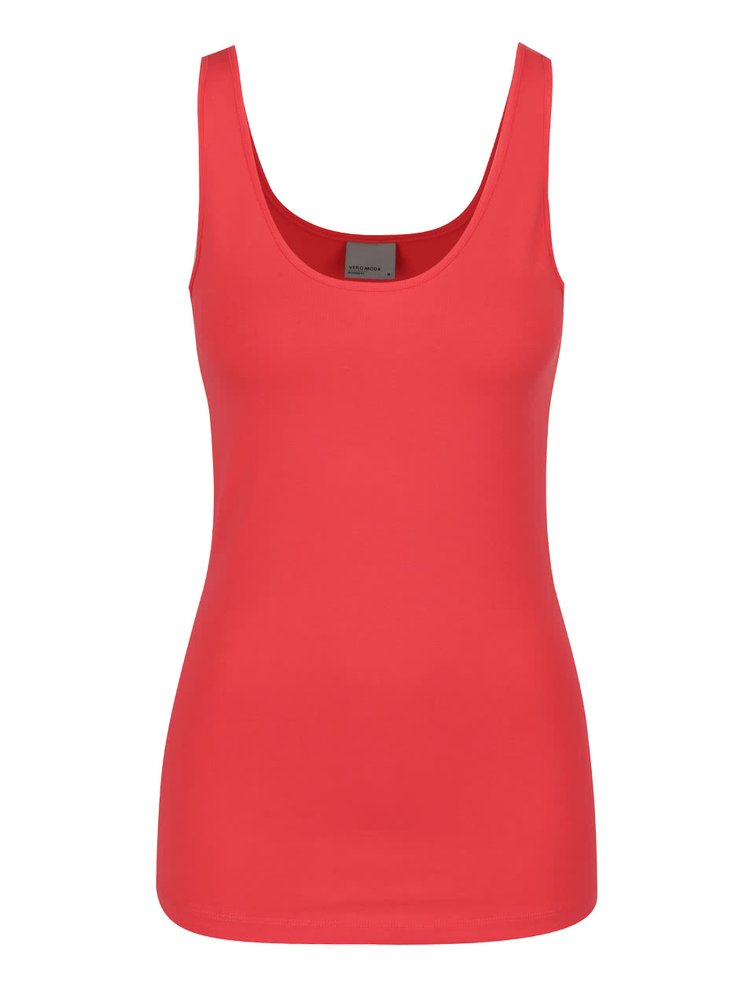Top rosu basic VERO MODA Maxi My