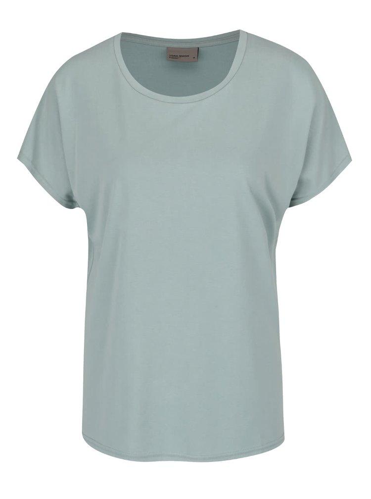Světle zelené volné tričko VERO MODA Metti