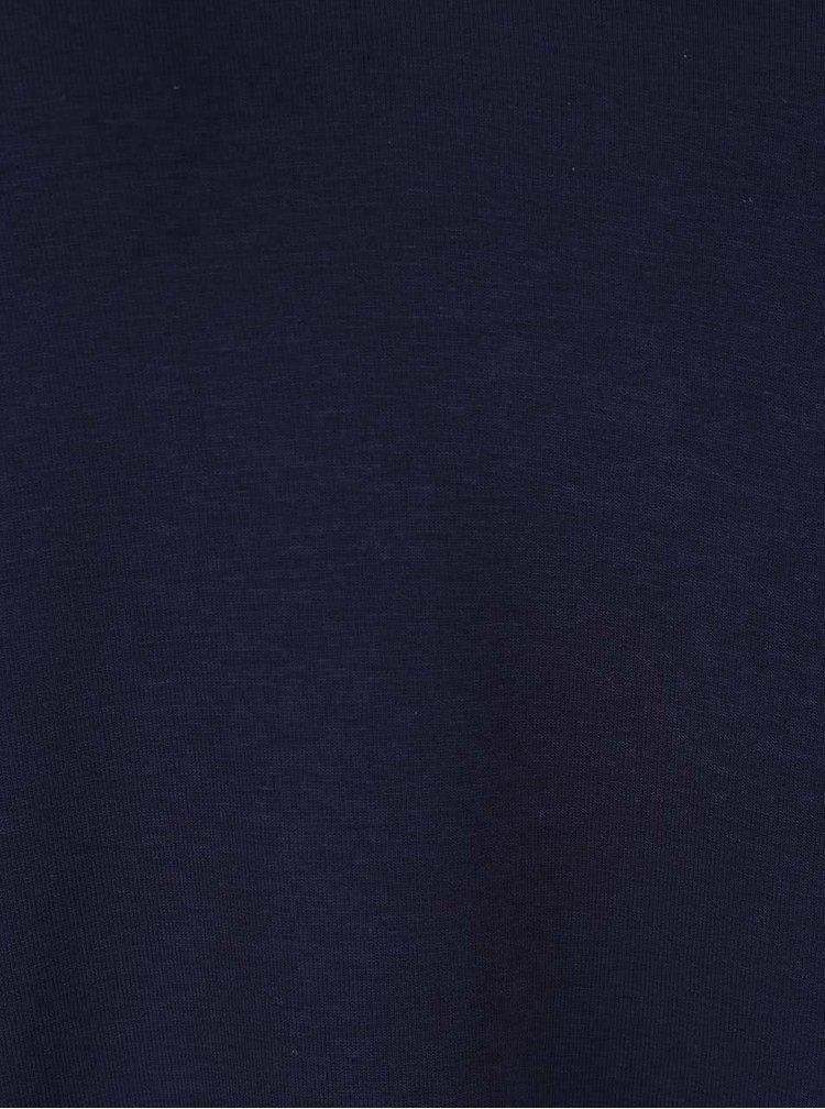 Tmavě modrý top se stojáčkem Dorothy Perkins