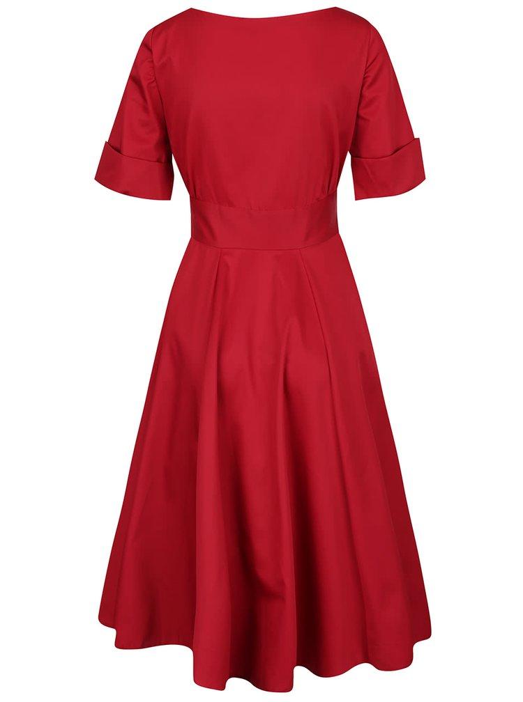 Rochie roșie Closet cu decolteu în V