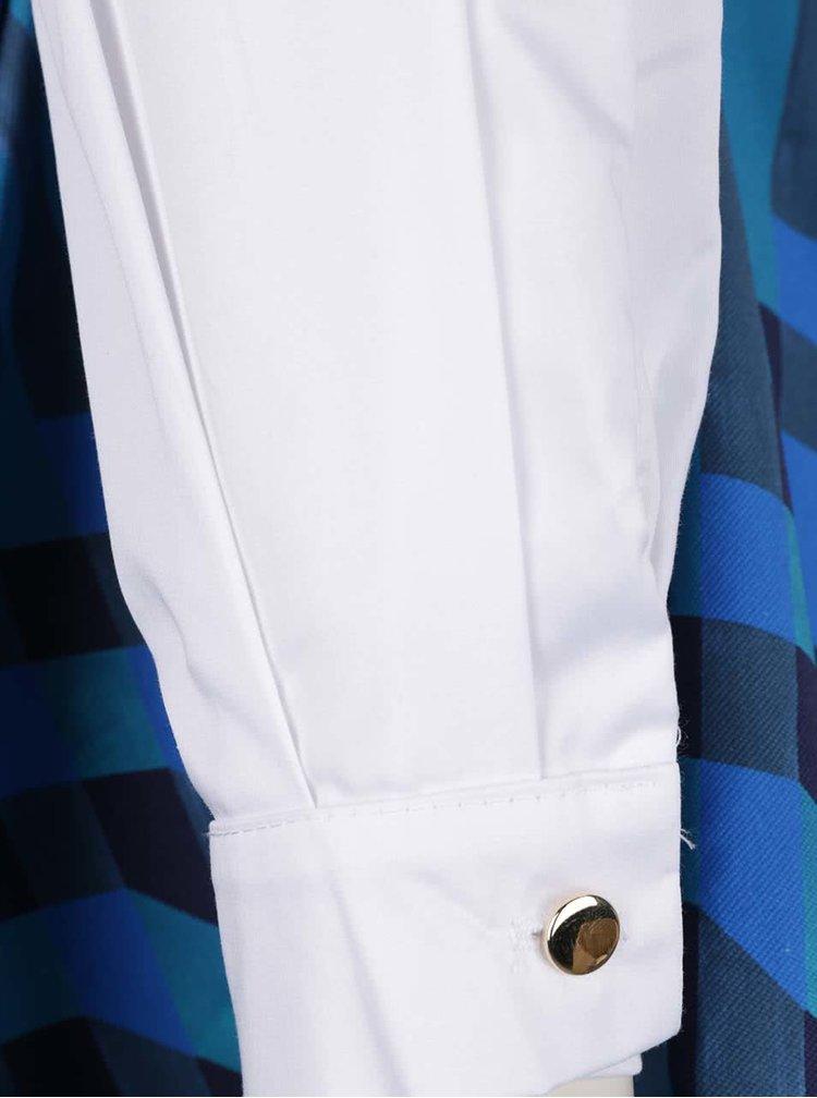 Bílo-modré šaty Closet