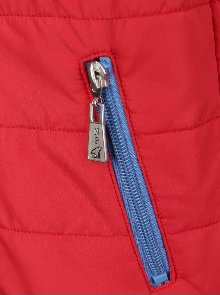 Červená klučičí vesta North Pole Kids