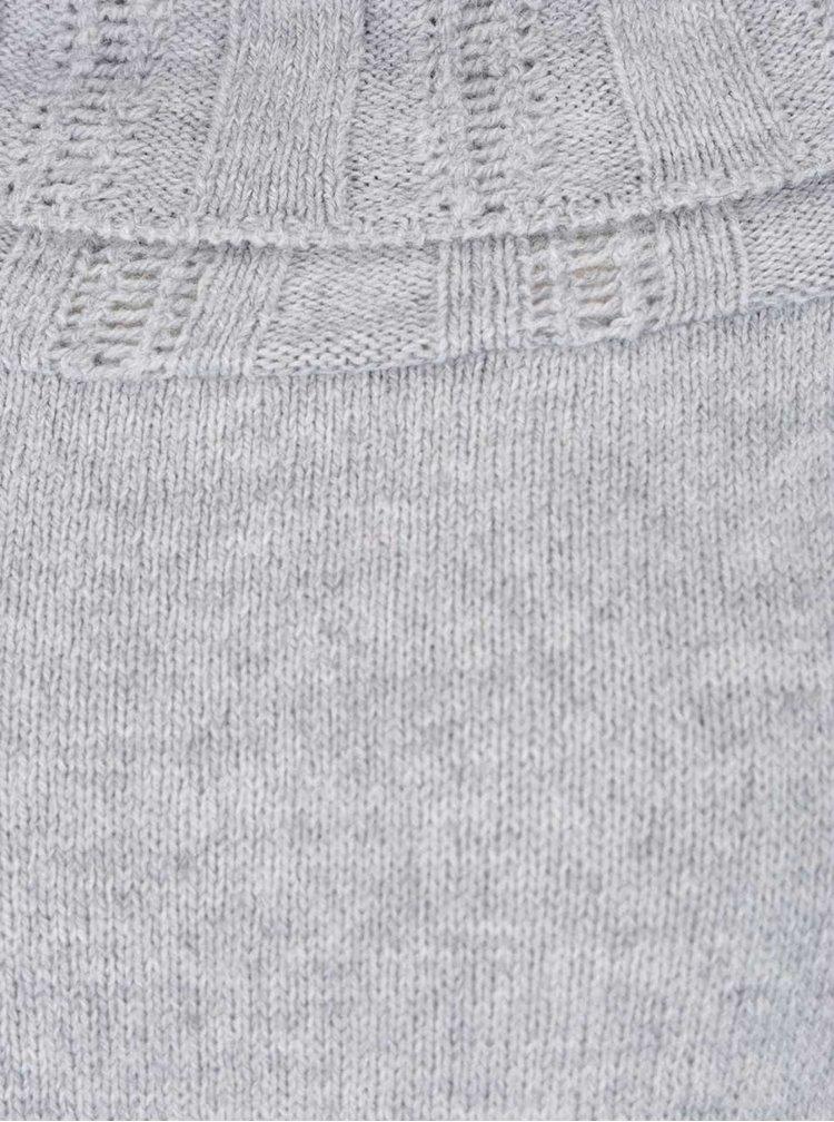 Rochie tricotata gri Miss Selfridge