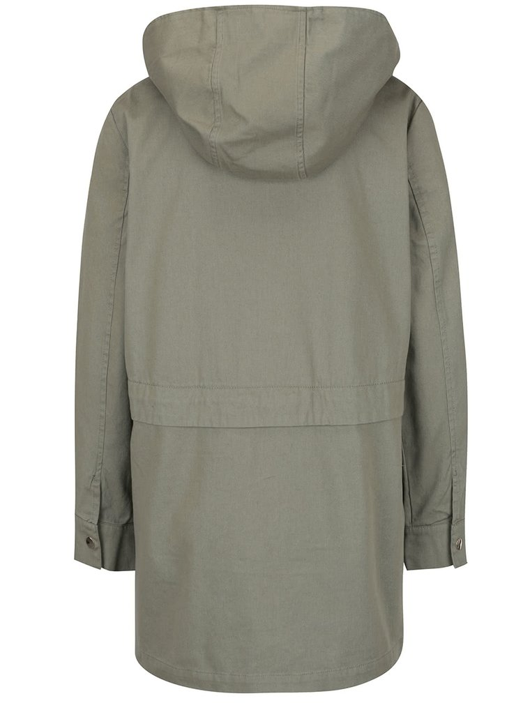 Khaki parka Miss Selfridge