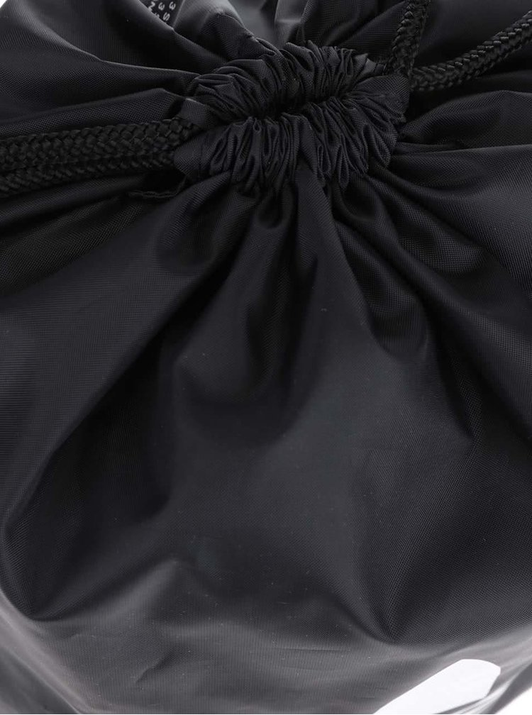 Rucsac negru adidas Originals Trefoil cu print