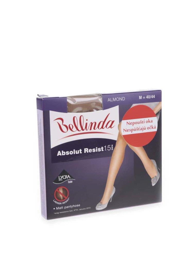 Tělové punčochy Bellinda Resist Pantyhose ALMOND 15 DEN