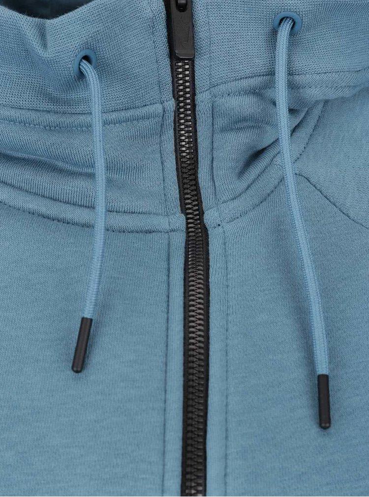 Modrá dámská mikina s kapucí Nike Sportswear Modern Cape