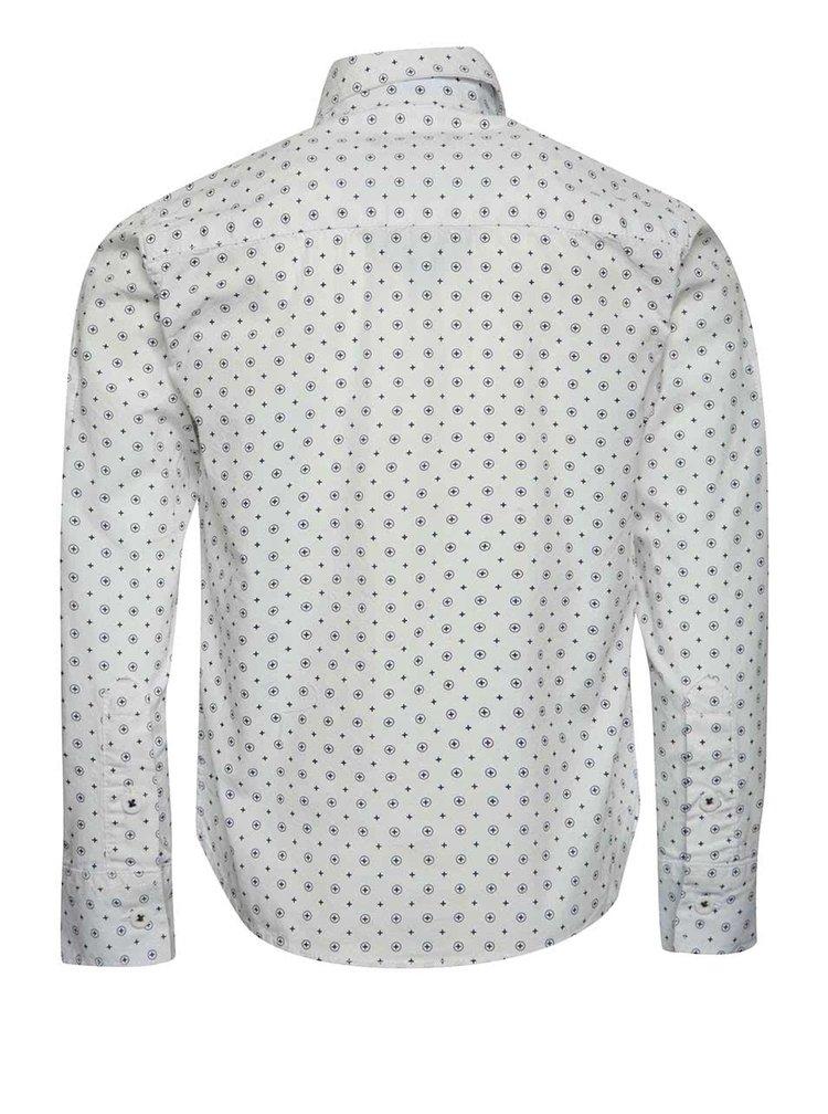 Modro-bílá klučičí vzorovaná košile Mix´n Match