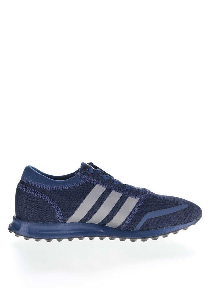 Pantofi sport albaștri pentru bărbați adidas Originals Los Angeles