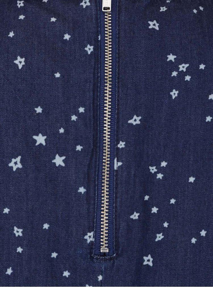 Rochie albastră cu imprimeu Dorothy Perkins din denim