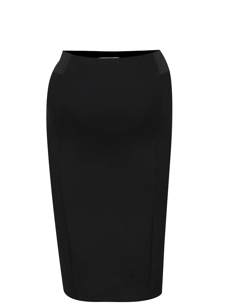 Černá těhotenská pouzdrová sukně Dorothy Perkins Maternity