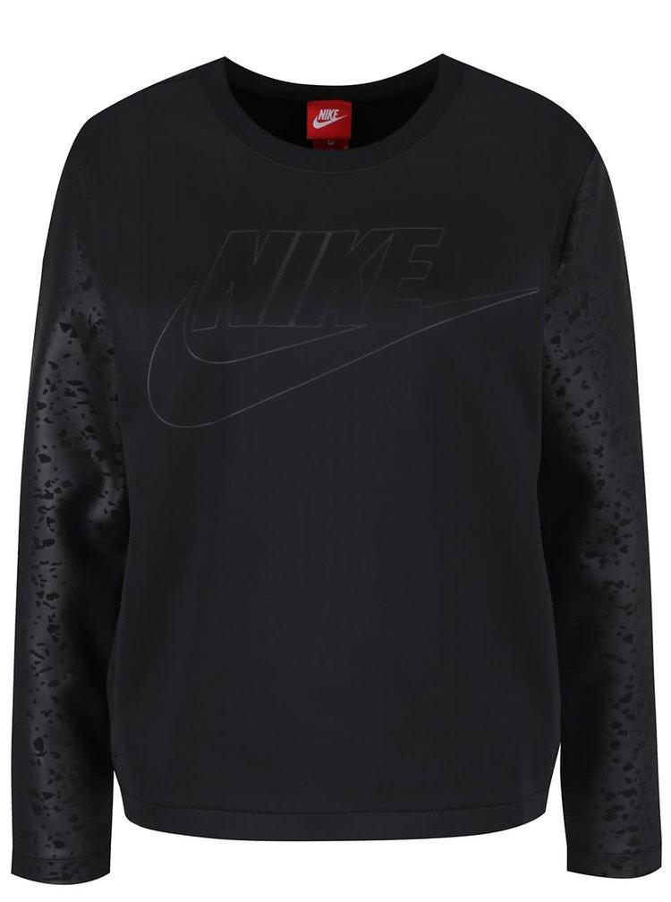 Černá dámská mikina Nike Crew