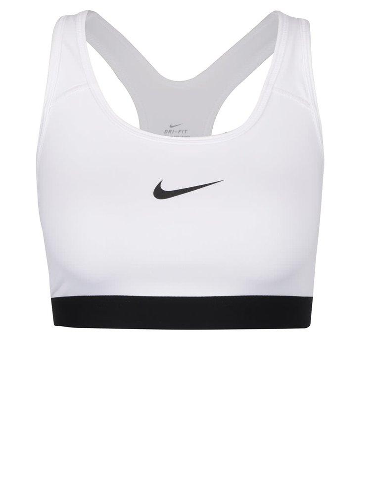 Bílá sportovní podprsenka Nike Pro Classic