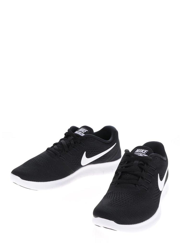 Pantofi sport negri Nike Free Running