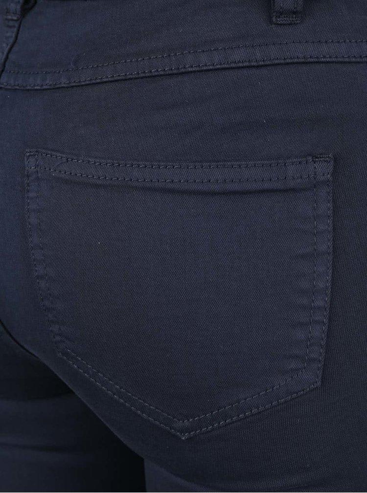 Pantaloni bleumarin slim fit VILA Commit