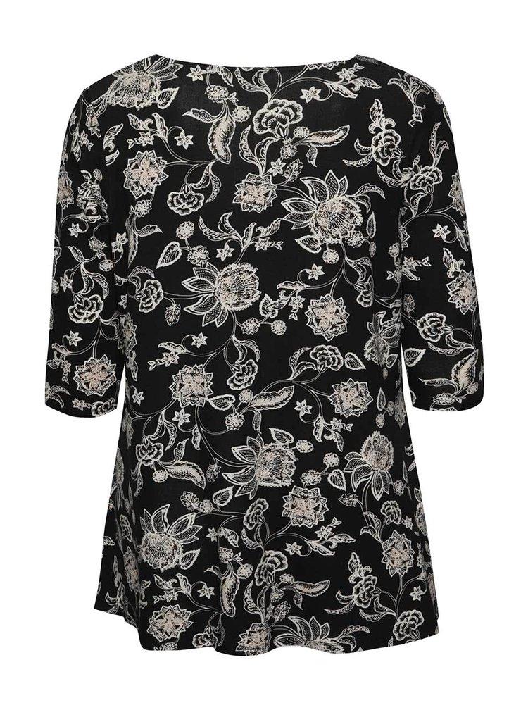 Bluză neagră M&Co cu model