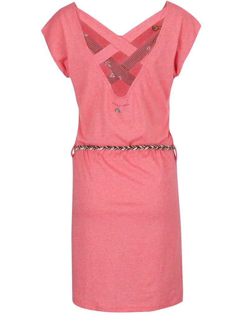 Korálové šaty Ragwear Sofia Dress